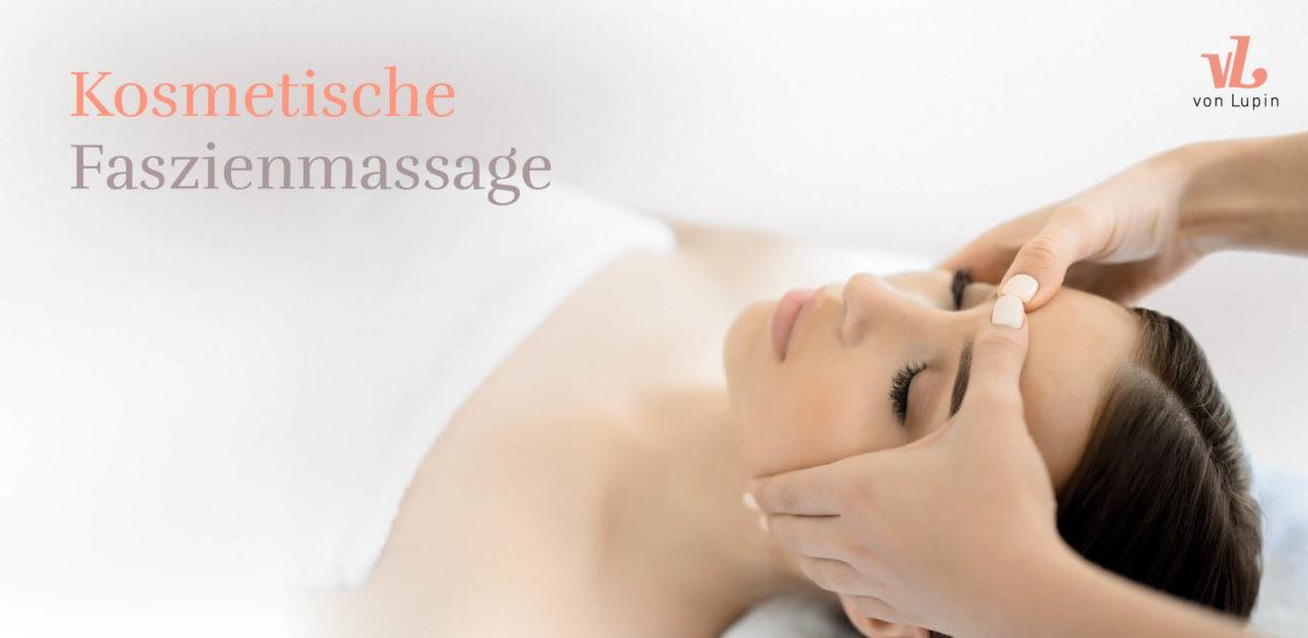 Kosmetische Faszienmassage
